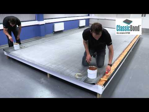 Flat Rubber Roof Epdm Installation Guides And Training
