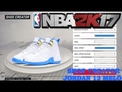 b97efd95758d NBA 2K17 Shoe Creator - Nike Kyrie 2 Custom  Denver Nuggets