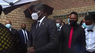 Cde Jackson Mthembu's Funeral service
