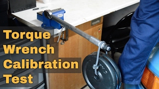 DIY Torque Wrench Calibration Test