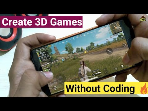 How To Make 3D Games In Mobile Without Coding | Create Android Game Without Coding 🔥