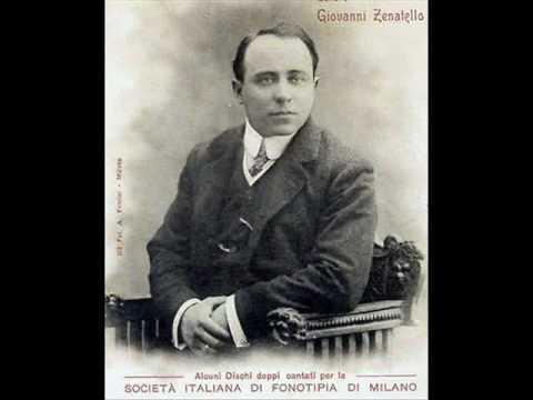Giovanni Zenatello: Mattinata (Consentina)