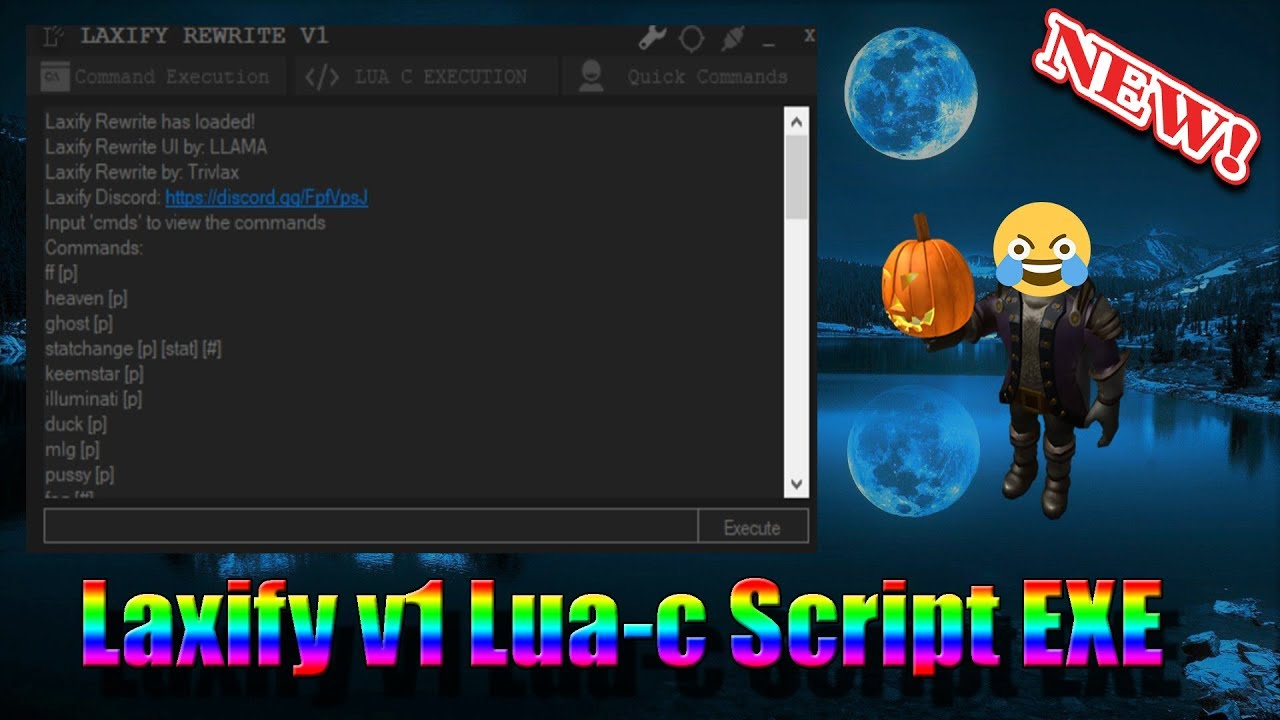 New Lua And Lua C Script Executer Laxify Roblox Youtube