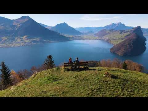Vitznau Region in der Schweiz