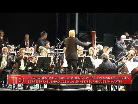 Vuelve la Filarmónica del Colon al Parque San Martín