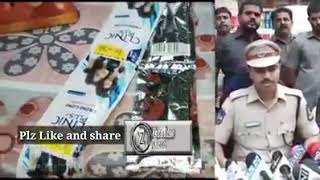 Hyderabad police Caught Duplicate product seller at Begum Bazar Hyderabad