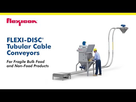 FLEXI-DISC® Tubular Cable Conveyor