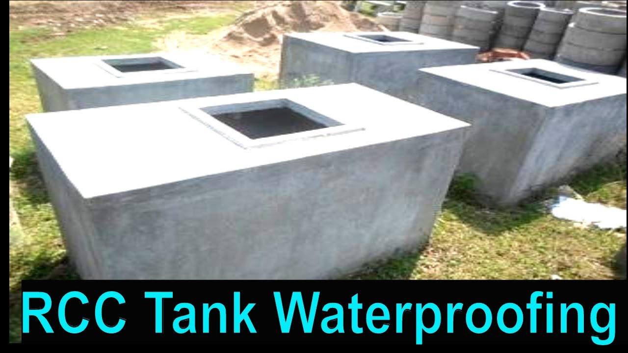 Waterproofing of Water Tank (Under ground and Overhead Tank) Animated