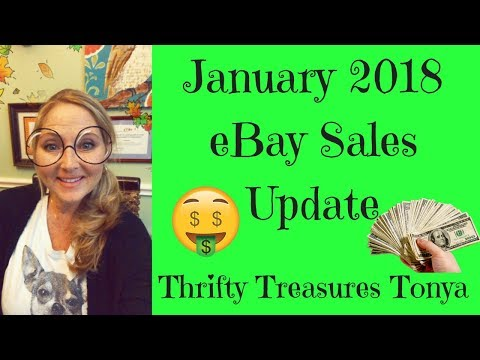Sold on eBay Sales Update January 2018