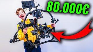 Meine NEUE 80.000€ Vlog KAMERA!