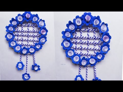 Paper Flowers Wall Decorations - Paper Crafts Wall Hangings - Paper Crafts Easy