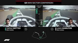 How Bottas Beat Hamilton To Pole | 2019 British Grand Prix