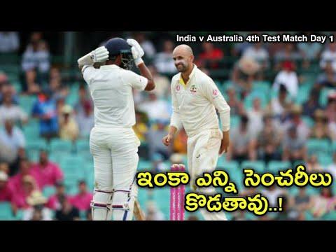 Australia vs India Test Series: Aren't You Bored Yet? Nathan Lyon Asks Cheteshwar Pujara || Lyon ||