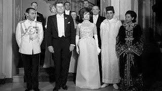 لقاء الحسن الثاني بالرئيس الأمريكي جون كينيدي سنة 1963