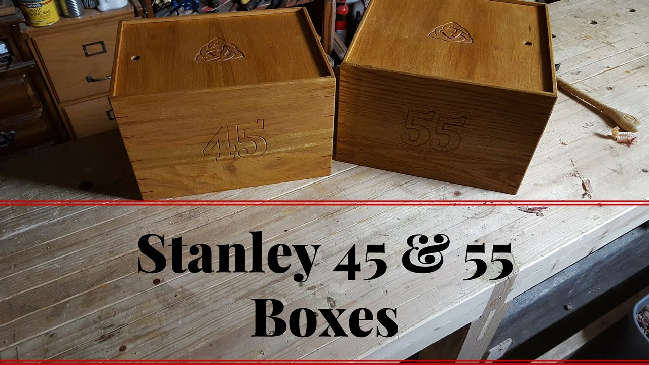 Making Boxes For A Stanley 45 And 55 Combination Plane Youtube