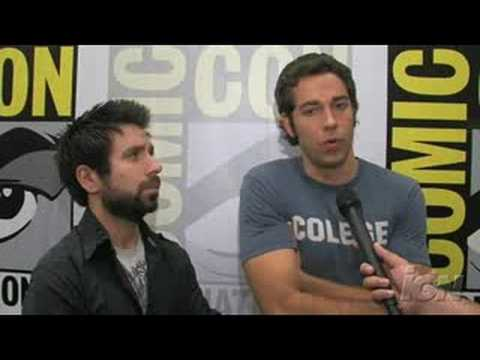 Sdcc 08 Chuck Joshua Gomez Zachary Levi Season 2 Interview Youtube He is the younger brother of actor rick gomez. youtube