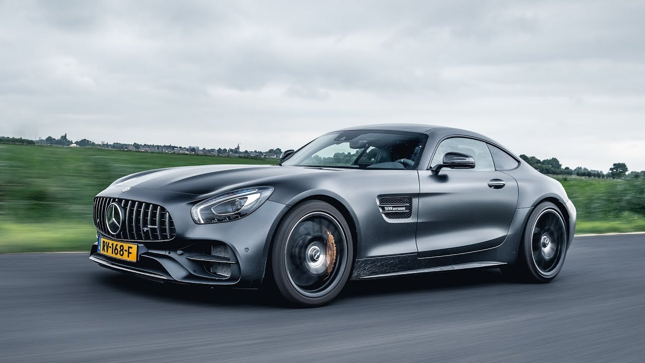 2018 Mercedes-AMG GT C Edition 50 REVIEW - YouTube