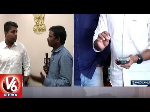 Enforcement Director Viswajith Face To Face Over GHMC Sanitary Field Workers Biometric Fraud | V6