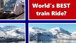 WORLD'S BEST TRAIN RIDE?  Bergen to Oslo (Norway) trip report