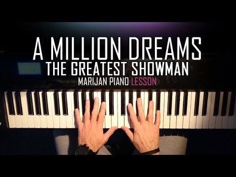How To Play: The Greatest Showman - A Million Dreams | Piano Tutorial Lesson + Sheets