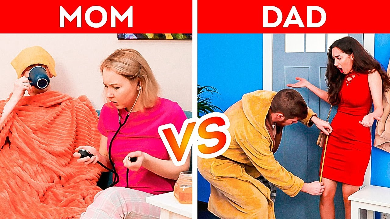 Download DAD vs MOM    Relatable Moments From Parents' Life All Moms and Dads Will Understand