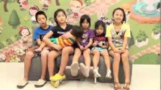 6人の子供たちが 母「美奈子」に感謝の言葉を贈っています。