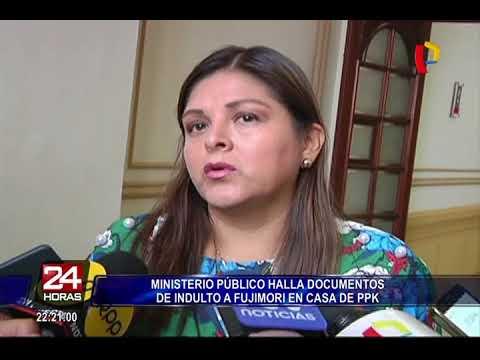Ministerio Público halla documentos de indulto a Fujimori en casa de PPK