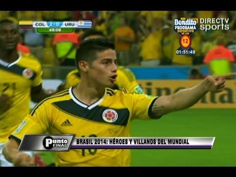 Brasil 2014: Los héroes y villanos de este Copa del Mundo