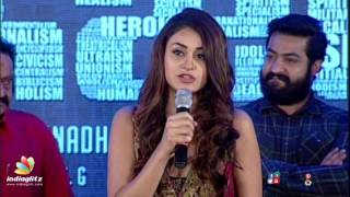 Kalyan Ram inspired me with his hardwork & dedication: Aditi Arya || Puri Jagannadh Ism Audio Launch