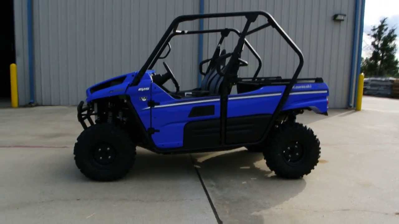 2014 kawasaki teryx 800 4x4 vibrant blue overview and review for