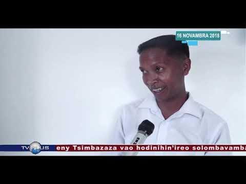 VAOVAO DU 16 NOVEMBRE 2018 BY TV PLUS MADAGASCAR