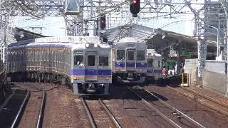 2018.5.24 南海電鉄 6300系 6313F + 6336F   区急 なんば 今宮戎 南海電車 南海車両一覧