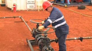 Historic oil discovery in Central Australia
