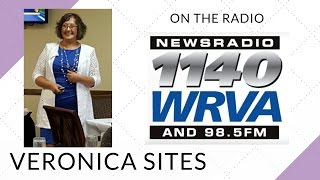 Live on the Radio in Richmond, Virginia | Veronica Sites
