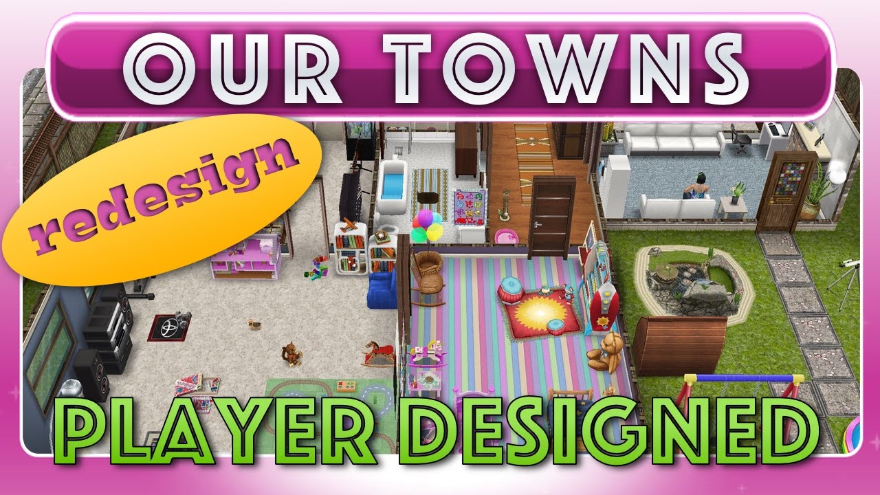Sims FreePlay - Player Designed House (Remodeled) - YouTube