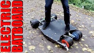 Building a Batman Electric Skateboard #2 | XRobots