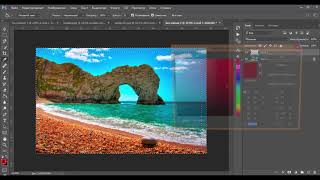 Как сделать рамку в Photoshop  Уроки фотошопа