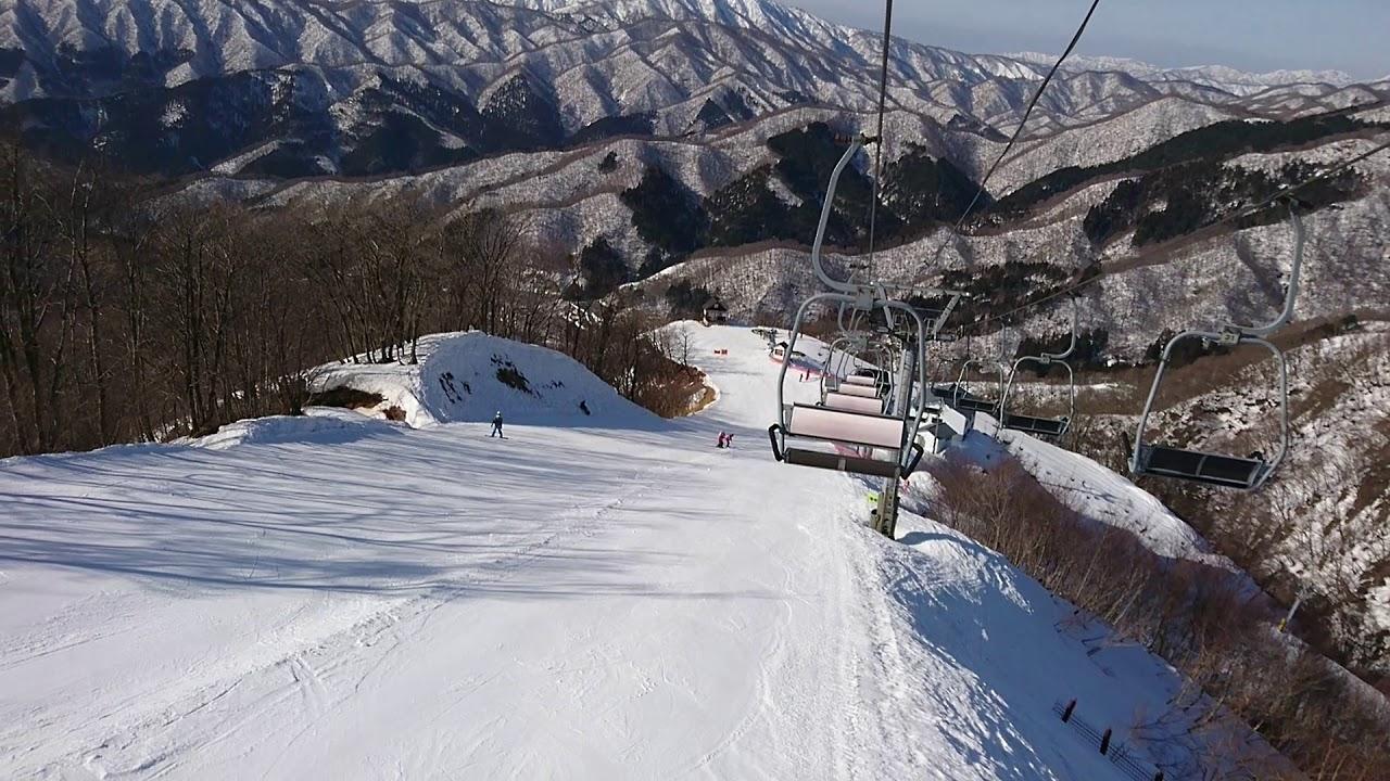 積雪 スキー 奥 伊吹 場