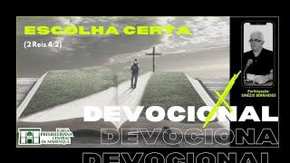 Devocional   ESCOLHA CERTA   29/12/2020