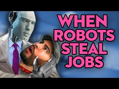 Robots Will Take Our Jobs - HOW TO SURVIVE - What is the Universal Basic Income?