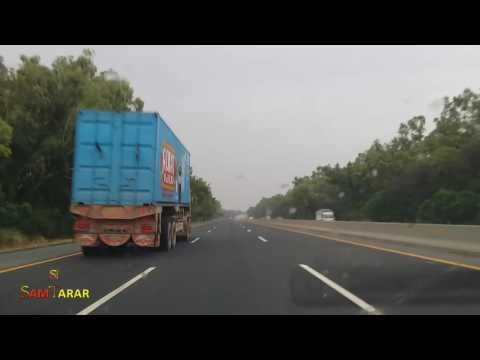 Road Trip, Motorway | Freeway, Khankah Dogran To Lahore, Pakistan