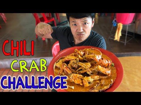 MASSIVE Singapore CHILI CRAB Challenge!