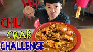 MASSIVE Singapore CHILI CRAB Challenge!