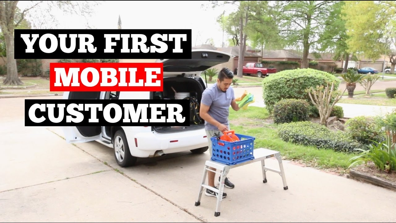 How To Handle Your First Mobile Detailing Customer Car Business Tips