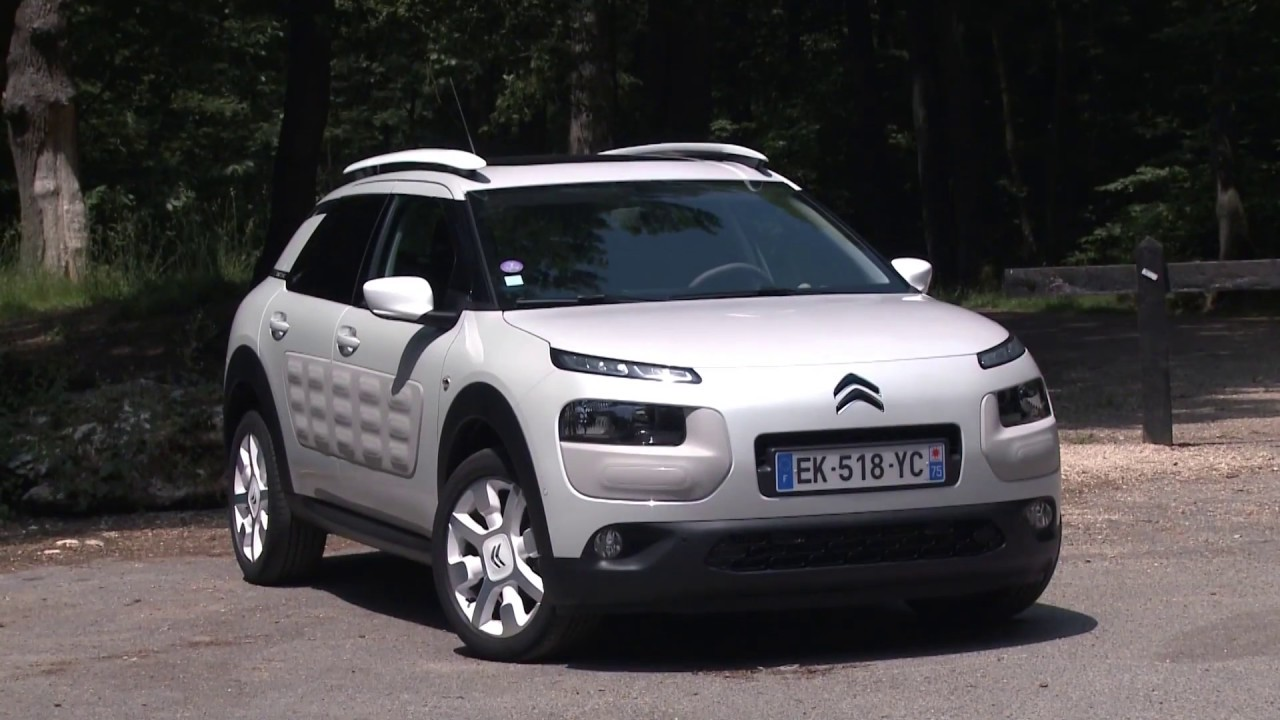 essai citroen c4 cactus 110ch puretech onetone youtube. Black Bedroom Furniture Sets. Home Design Ideas