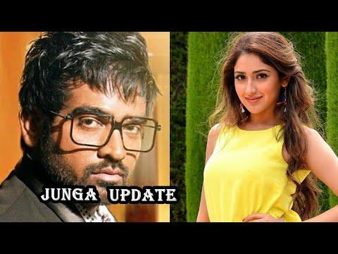 Vijay sethupathi and sayeesha 'JUNGA'  movie distribution rights | Junga movie updates