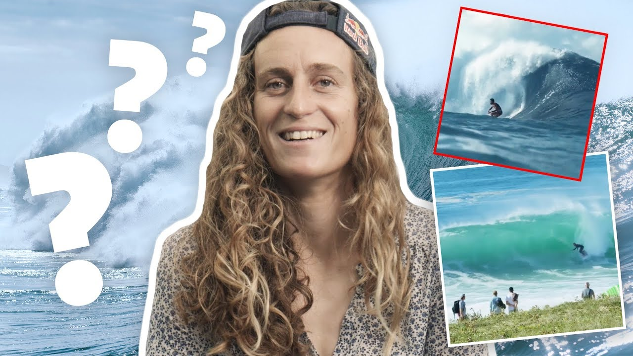 Pro Surfer Tries To Guess The Wave