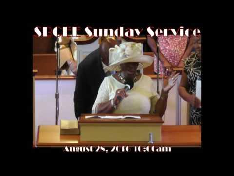 SBCEE Sunday Service August 28, 2016 10:00am
