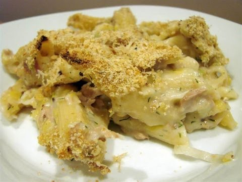 Tuna Casserole - HEALTHY FOOD - DIABETIC FOOD - How To QUICKRECIPES