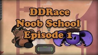 DDRace Noob School - Episode 1: Using Brain